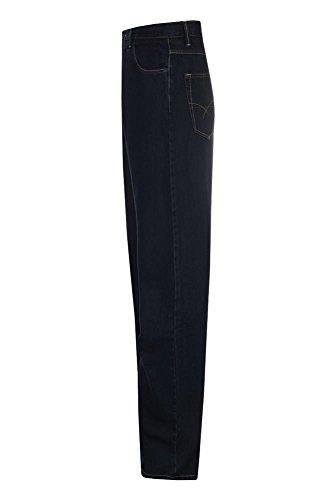 Aimwell Herren Straight Leg Jeanshose, Einfarbig Dunkelblau
