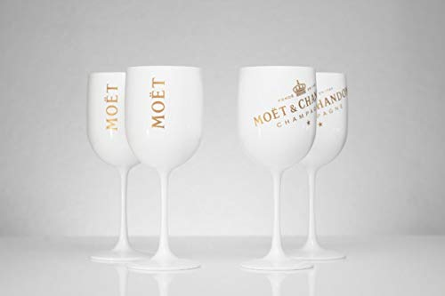 Moet Chandon Weiss Ice Imperial Champagner Limited Ibiza Edition (Weiss) 4Stück (4pcs.) Ibiza Ice