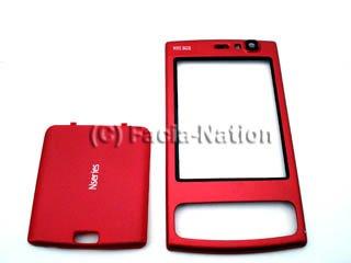 Crystal señal–Nokia N95(8GB) rojo móvil cubierta/Facia segunda mano  Se entrega en toda España
