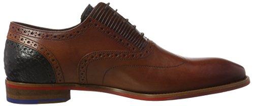 Floris van Bommel  19062/00, Chaussures richelieu homme Marron