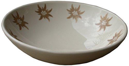 les-sculpteurs-du-lac-ce003-piatto-fondo-con-motivo-stella-alpina-dipinto-a-mano-in-ceramica-6-cm-co