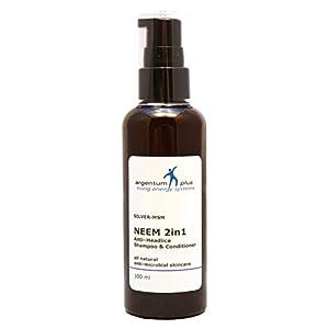 ARGENTUM Plus silver-msm Neem 2in1anti-headlice Shampoo und Conditioner 100ml