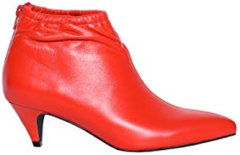 Mr.   Ms. Jeffrey Campbell Stivaletto Zosia Leather rosso Molti stili Alta qualità ed economia Prezzo economico | Fashionable  | Maschio/Ragazze Scarpa