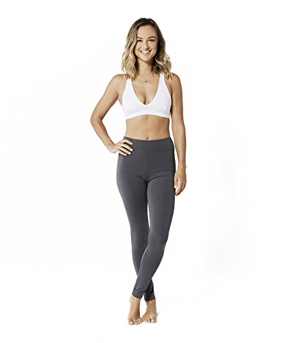 Lotuscrafts Yoga Leggings Damen Lang aus Bio-Baumwolle - Fair & Ökologisch - Yoga Sporthose für Damen - Sport Leggings Frauen - Womens Stretch-baumwolle-yoga Pant