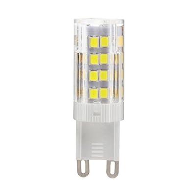 VOYOMO(TM) G9 LED Lampen 5W,Ersatz f¨¹r 40W Halogen-Lampe,6000-6500K,AC 200-240V,5er Pack