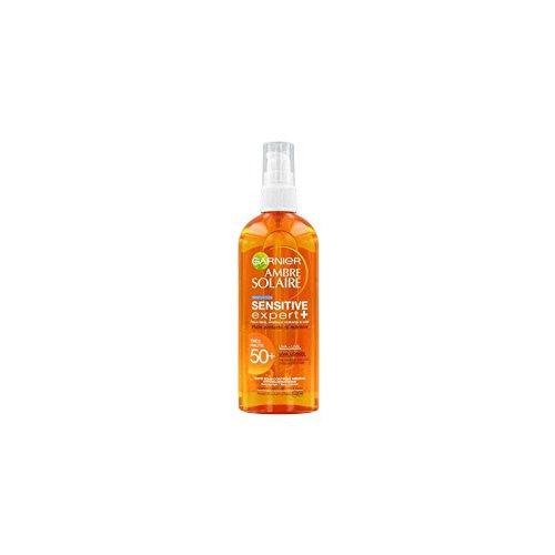 GARNIER - Ambre Solaire - Sensitive expert + Huile protectrice Nutritive IP 50+ - Spray 150ml