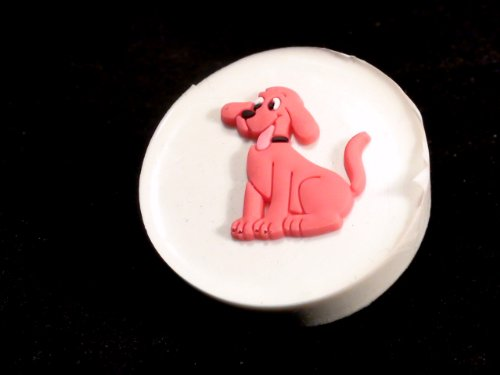 Classikool Clifford the Big Red Dog Silicone Icing Cake amp; Cupcake Topper Mould