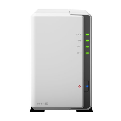 Synology  DiskStation DS214se Desktop NAS-System 6TB (2-Bay, 2x 3TB WD Red) | 5051868697982