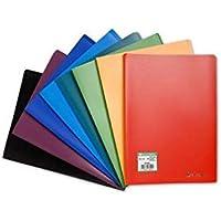 Exacompta - Réf. 8510E - 1 Protège-documents en polypropylène souple OPAK 20 vues / 10 pochettes grainées - A4 - Couleur…