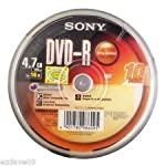 Perfectly Captures a Lot of Data     Conveniently create and archive your home videos, favourite movies, personalized playlist and memorable pictures with the Sony 4.7GB DVD. It offers you about 4.7GB worth of storage space or 120 minutes of ...