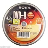 Sony 4.7 GB 10 pack Blank dvd