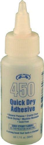Helmar 800775 450 Quick Dry Adhesive-1.7 Unzen (Unzen-flasche 1.7)