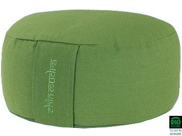 Coussin de méditation Lotus 100% coton Bio - Vert