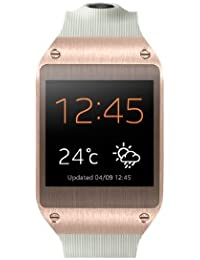 Samsung Galaxy Gear V700 Smartwatch (4,14 cm (1,63 Zoll) SAMOLED-Display, 800 MHz, 512MB RAM, Android 4.3) rose-gold