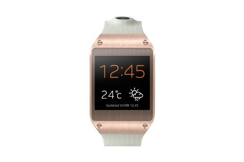 Samsung Galaxy Gear V700 Smartwatch (4,14 cm (1,63 Zoll) SAMOLED-Display, 800 MHz, 512MB RAM, Android 4.3) rose-gold (Gear Samsung Sm-v700)