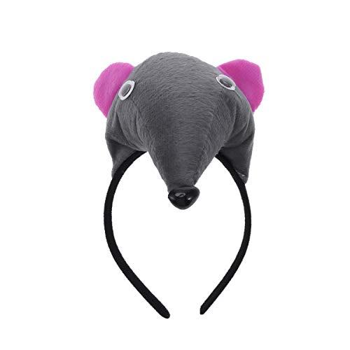 Tier Ohr Stirnbänder - Amosfun Maus Ohr Stirnband Tier kostüm