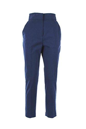 Pantalone Donna Elisabetta Franchi 42 Blu Pa8123963 Autunno Inverno 2015/16