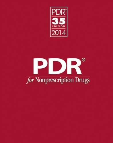 PDR for Nonprescription Drugs 2014 (Physicians' Desk Reference for Nonprescription Drugs)