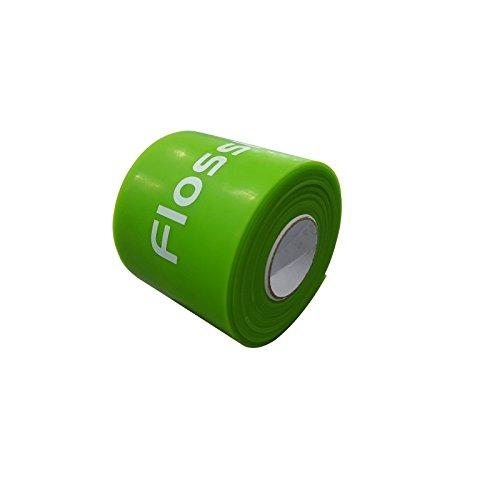 Flossband, einzeln, Standardbreite 5cm, in 4 verschiedene Stärken - Level 1 - limette - leicht - 1,1mm