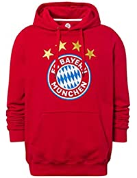 507b7d90e38 FC Bayern Múnich Sudadera Logo Rojo
