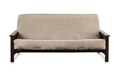 Camel Full Size Quality Bonded Micro Suede Futon Mattress Cover