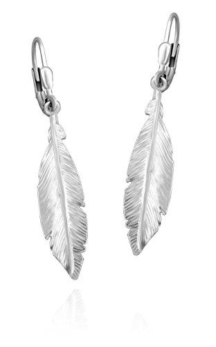 SOFIA MILANI Damen-Ohrhänger Engel Flügel 925 Silber 20513