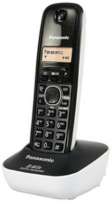 Panasonic KX-TG3411SX 2.4GHz Digital Cordless Phone (White)  available at amazon for Rs.1625