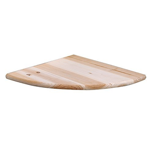 Core Products Corner Shelf Kit, Sanded Timber 28.5x28.5x1.6 cm by Core Products