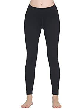 Lover-Beauty Pantalones Yoga Deportivas Mujer Leggins Elastico Cintura Altura Deportivos Algodón Modal Polainas...