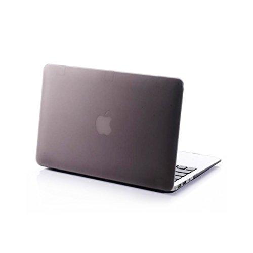 Farbe Scrub Frosted Ultra Slim Light Gewicht Hard Kunststoff Laptop-Hülle, Top und Bottom Cover Shell für Apple MacBook Air 29,5cm Fall-(f4m6, 29,5cm) -