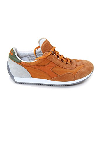 Diadora Equipe Stone Wash 12, Chaussures Basses Mixte Adulte Orange