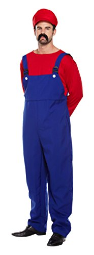 SUPER WORKMAN COSTUME- RED