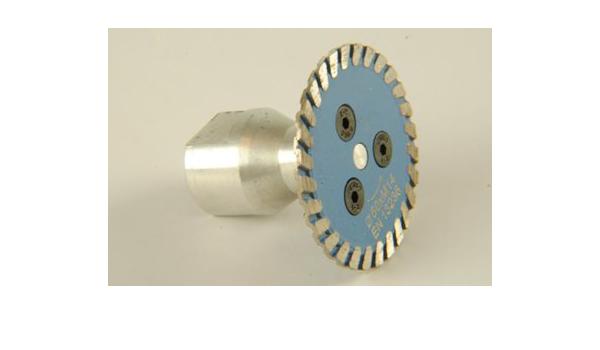 Diamant Trennscheibe mit 50 mm Schneidrad mit Dorn J4X1 1X