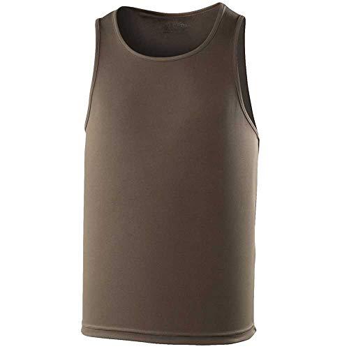 Just Cool Mens Colours Sleeveless Jogging Sports Vest Tank Top S,M,L,XL,XXL -