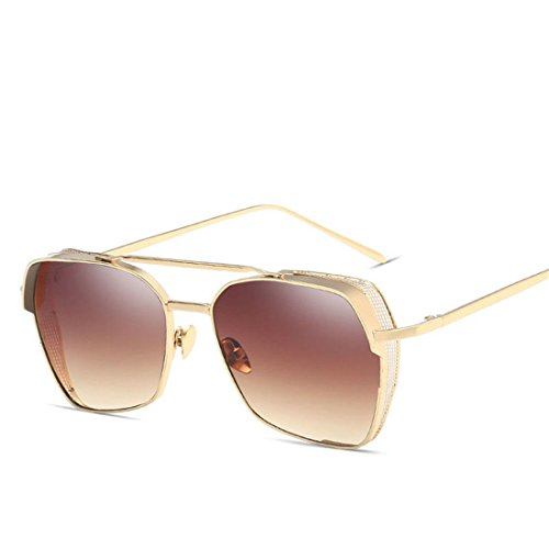 GCC Metall Sonnenbrillen Mode Sonnenbrille voller Karton, E