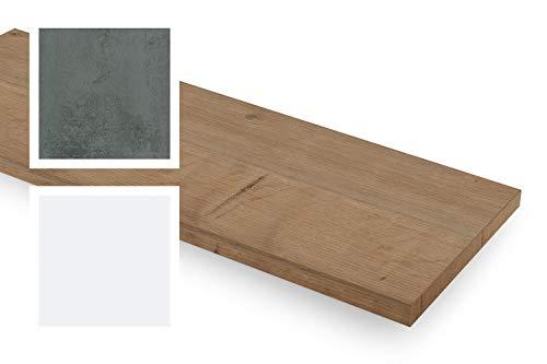 empasa Fensterinnenbank Fensterbank Design-Fensterbank INNEN inkl. Kantenschutz MDF Arlington Eiche, Ausladung (Width Range) 150-400 mm, Länge (Length Range) 250-2000 mm