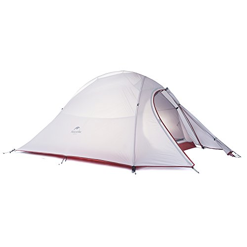 Naturehike cloud-up ultra-leggero 2 persona doppio strato tenda tende da escursioni (20d grigio)