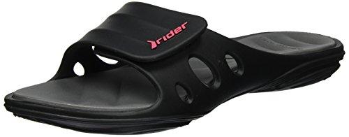 Rider - Rider Key Ix Fem, Sandali Donna Mehrfarbig (black/grey)