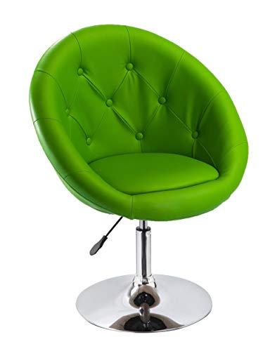 Sessel in Grün höhenverstellbar Kunstleder Clubsessel Coctailsessel Lounge Sessel Duhome 0337