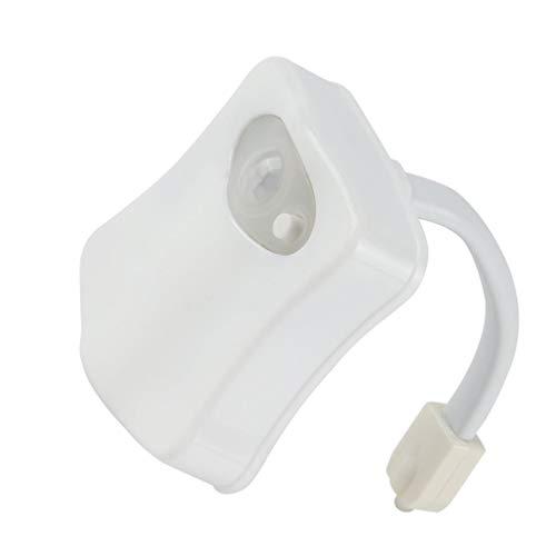 Intelligente led sensore di movimento umano bagno di notte illuminato toilette con luce colorata sedile wc lampada sensore automatico luce del sedile