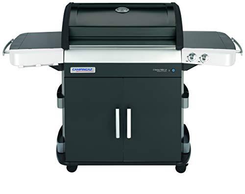 Campingaz Gasgrill 3 Series RBS LX mit Keramikbrennern, großer Grillwagen mit Deckel-Thermometer, InstaClean Reinigungssystem und Culinary Modular System