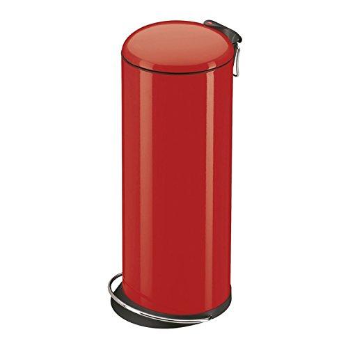 Hailo 0523-919 Design Tret-Abfallsammler TOPdesign 26, rot