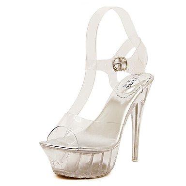 RTRY Donna Comfort Tacchi Pu Molla Informale Comfort White 5In &Amp; Su Bianco Us7.5 / Eu38 / Uk5.5 / Cn38 US5.5 / EU36 / UK3.5 / CN35