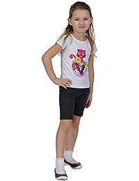 Mallas pirata o pantalones cortos Leggins, para niñas de 3a12años, amplio abanico de colores
