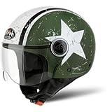Airoh Compact Jet Helm Shield M GREEN MATT