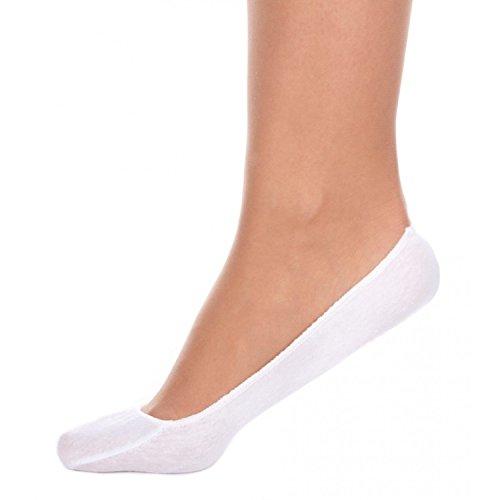 12 Paar Mädchen Füßlinge Zehensocken Ballerina Socken Weiß