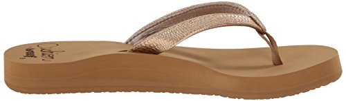 Reef Star Cushion Sa, Sandales Plateforme femme Rose (Rose Gold)