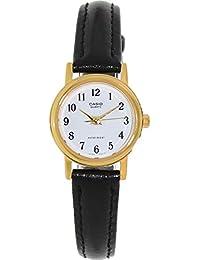 21cada4f68d2 CASIO 19053 LTP-10 - Reloj Señora Cuarzo Correa Piel dial Blanco