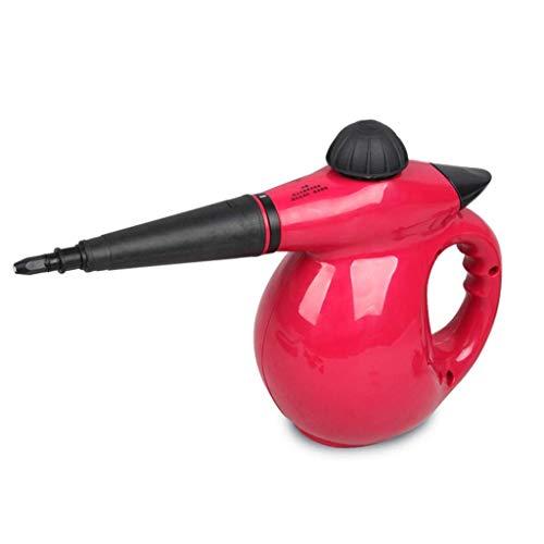 L&WB Dampfreiniger 100 W Handdruck Mit 9 Zubehörteilen - Mehrzweck- Und All-Oberflächen-All-Natural, Chemikalienfrei Für Haushalte, Autos, Terrassen Usw.