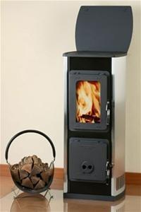 Preisvergleich Produktbild Kaminofen Holzofen Kachelofen Dauerbrand Ofen 365 5 KW
